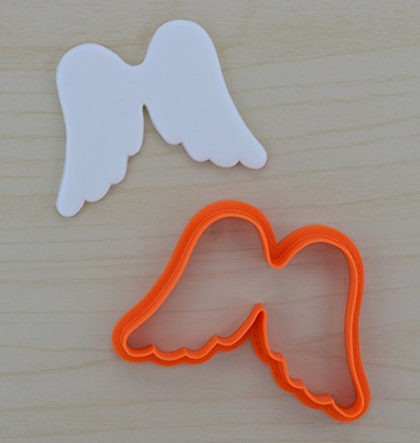 - Angel Wings Cookie Cutter 101 (4.6 x 3 inches)