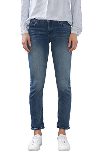 Jeans Bleu Femme Medium Blue Esprit Wash SaRqwfWn1x