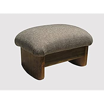 Amazon Com Rocking Padded Foot Stool 9 Quot Tall Maple Stain