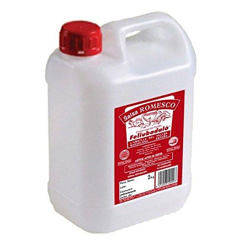 Feliubadaló - Salsa Romesco líquida - 2 litros: Amazon.es: Alimentación y bebidas