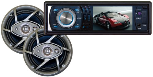 Fx45 Dash (Absoltue DMR-390TPKG 3.5-Inch In Dash TFT/LCD Multimedia Player with 6.5-Inch Speaker Package)