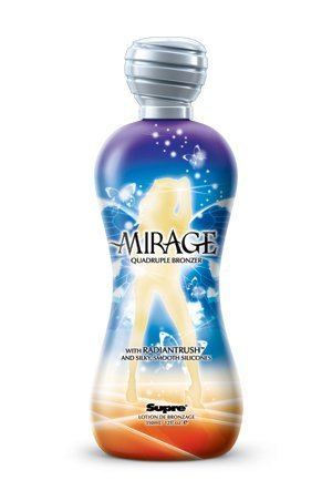 Supre Mirage 4x Blushing Bronzer Tanning Lotion 12 oz.