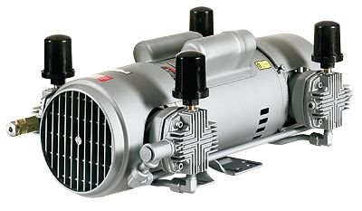 Oilless Air Compressor, Piston compressor pump, 5.4 cfm, 220 VAC