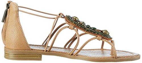 Nine West Women's Nwgrinning3 Gladiator Sandals Dark Natural kUZdgf