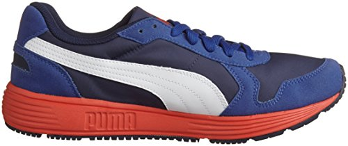 Unisex white peacoat St Sneaker Ftr blau Nl Runner limoges Blu Puma 01 Adulto wa6qFXgFP
