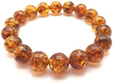 4,6 grams 1976 amber bracelet cognac color amber Baltic Amber Bracelet