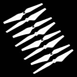 JouerNow 8PCS 9450 PVC Self Locking Enhanced Prop Propeller for DJI Phantom 3 2 E300 White