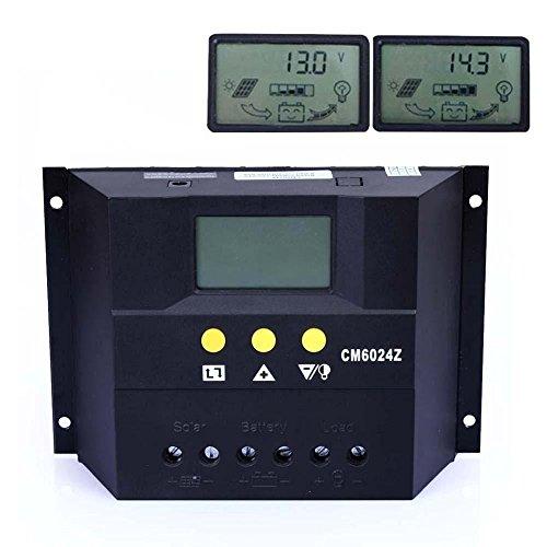 Y-SOLAR 30A 50A 60A Solar Charge Controller Regulator 12V...