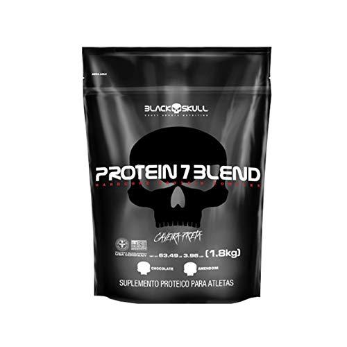 Protein 7 Blend - Chocolate - Black Skull, 1800 g