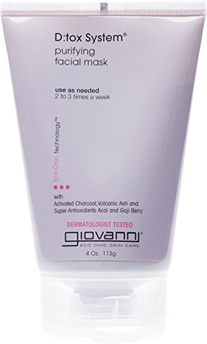 Giovanni D:tox System Purifying Facial Mask, 4 (Volcanic Recharge)