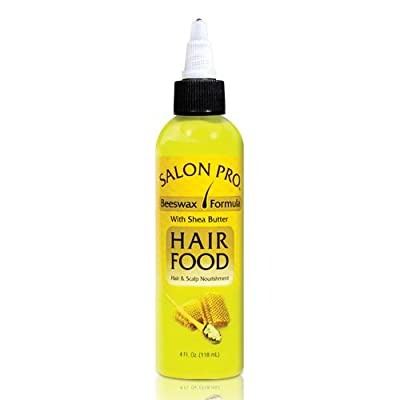 Salon Pro Hair Food Beeswax with Shea Butter 4oz