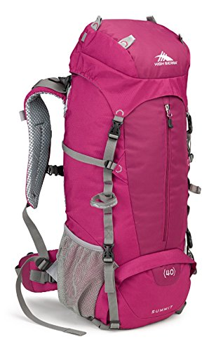 High Sierra Women's Summit 40L Top LoadBackpack Pack, High-Performance Pack for Backpacking, Hiking, Camping, with Rain Fly