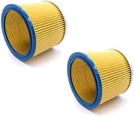 vhbw 2x Filtro redondo/filtro laminado para aspiradoras, robot ...