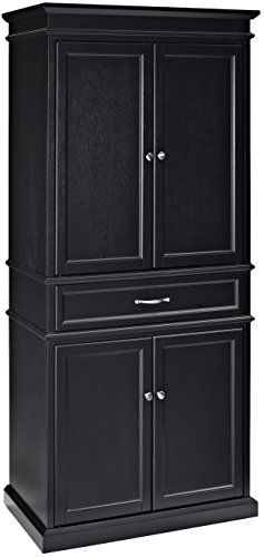 Crosley Furniture Parsons Pantry Cabinet - Black by Crosley Furniture