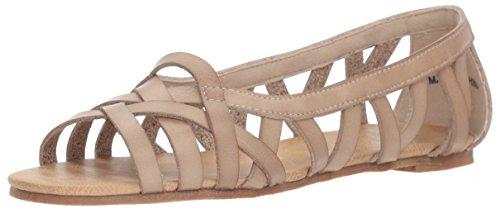 Blowfish Women's Dirry Flat Sandal, Birch Dyecut, 7.5 M US