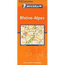 Michelin France, Rhone-Alpes Map No. 11523