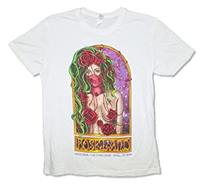 Lady Gaga Final Show Roseland NYC 4/7/2014 Adult White T Shirt