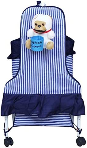STEPUPP New Arrival Baby JHULA,Baby PALNA,Baby Crib and Cradles (23 Blue)