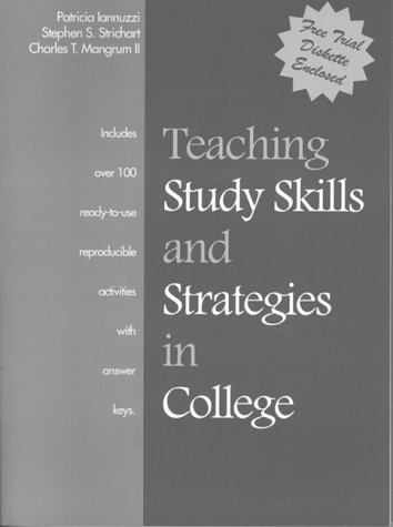 Teaching Study Skills and Strategies in College