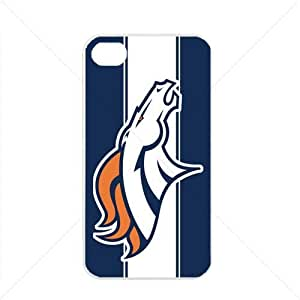 NFL American football Denver Broncos Fans Case For HTC One M8 Cover PC Soft (White)