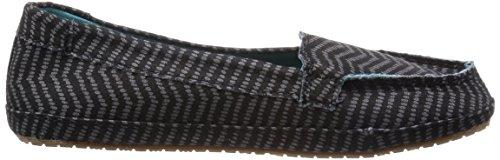 Sanuk Dames Izabella Loafers Schoenen Zwart