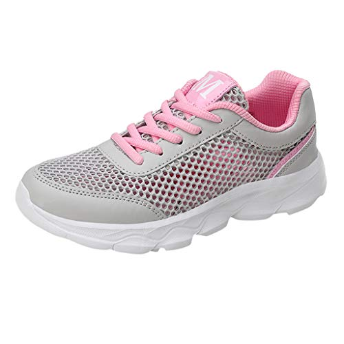 - OrchidAmor 2019 Basic Non-Slip Women's Fashion Mesh Casual Breathable Sports Athletic Running Women's Sneakers Pink