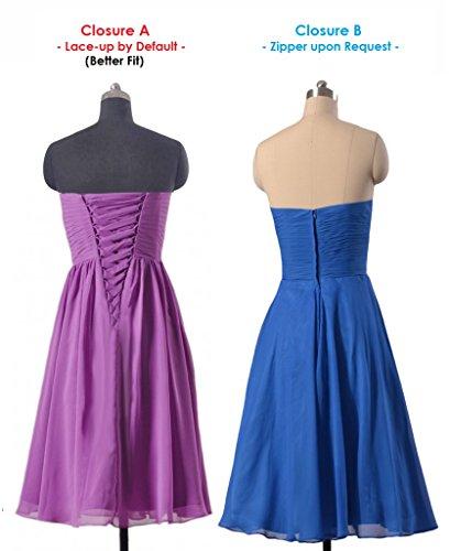 Dress BM8487S Strapless banana Skirt Dress Short 24 DaisyFormals Bridesmaid Party Full 4ntAxRBZwq