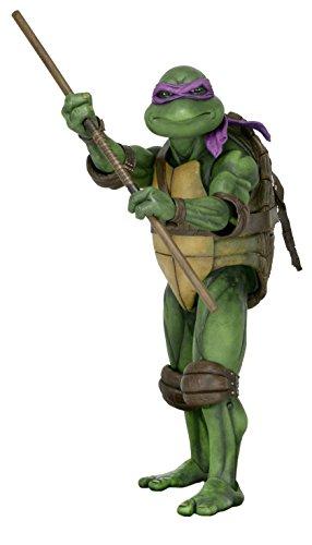 NECA Teenage Mutant Ninja Turtles (1990 Movie) Action Figure - Donatello (1:4 Scale) (Ninja Turtles Action Figures Neca)