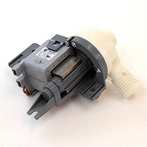 Whirlpool W10581874 Washer Drain Pump Original Equipment (OEM) Part, White by Whirlpool (Image #1)