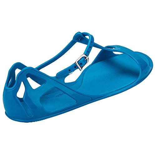 adidas ZX Sandal W - Sandalias de vestir de Material Sintético para mujer Azul