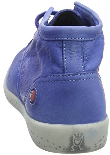 Softinos Indira Washed, Sneaker a Collo Alto Donna Blau (Lavender Blue)