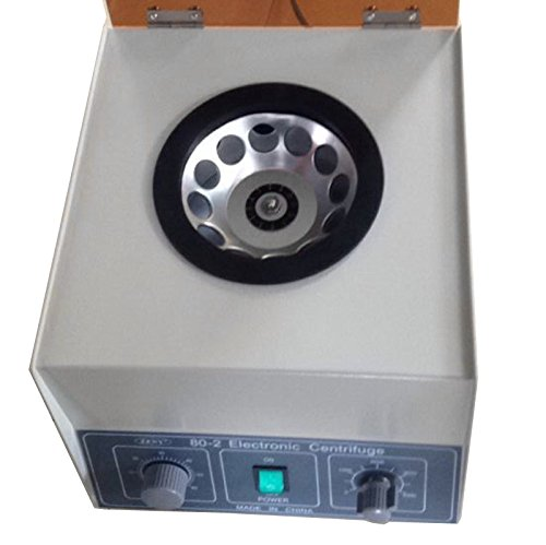 Super Deal Upgraded Electric Centrifuge Machine 110V Lab Medical Practice 4000RPM - Timer and Speed Control by SUPER DEAL (Image #2)