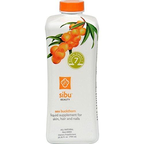 Sibu, Sea Buckthorn Omega 7 Blend, 25.35 Oz (Sea Buckthorn Liquid)