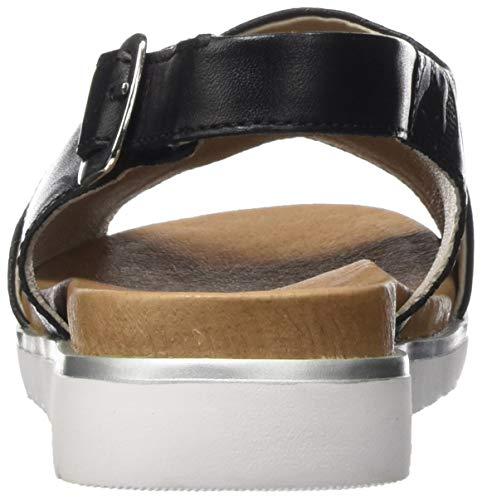 Sandali Remonte Alla D4054 Nero Cinturino Donna schwarz 01 Caviglia Con UTZTO