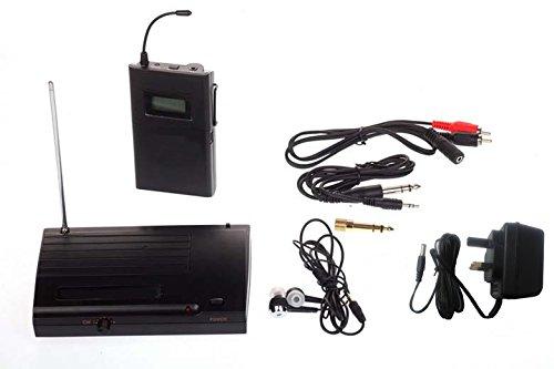 Takstar 6 auswählbare Kanäle Anti-Jamming-UHF Stereo 50m Entfernung Transmission In Ear Berufsstadium drahtloses Monitor-System