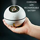 Neossun Cordless Rechargeable Humidifier 2000 mAh Battery 12...