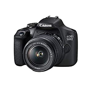 Canon DSLR with APS-C CMOS Sensor (Black)