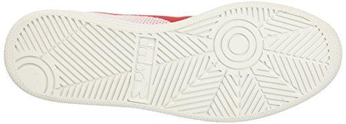 Elite Bianco Uomo Weave B Sneaker Diadora Rosso Bianco Bianco gwB7FqH