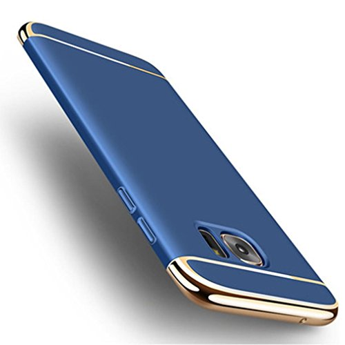 Price comparison product image Feite Thin Electroplate Hard Case Cover for Samsung Galaxy Note 5 (Blue, for Samsung Galaxy Note 5)