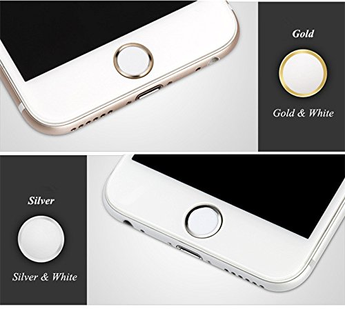OWIKAR 4 Packs Home Button Sticker-Touch ID Button (Support Fingerprint  Indentification System Touch ID) for iPhone 8 7 8 Plus 7 Plus 6S Plus 6S 6  Plus 6 5S ... 4a5e55c0da