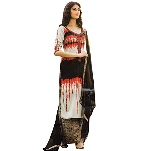 Ethnic-Tie-Dye-Rich-Cotton-Embroidered-Salwar-Kameez-Palazzo-Pants