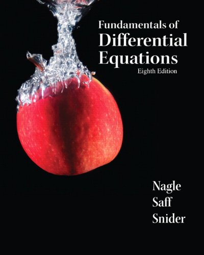 Fundamentals of Differential Equations (8th Edition) (Featured Titles for Differential Equations)