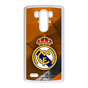 Personalized Durable Cases LG G3 Cell Phone Case White Real Madrid Bnpfv Protection Cover