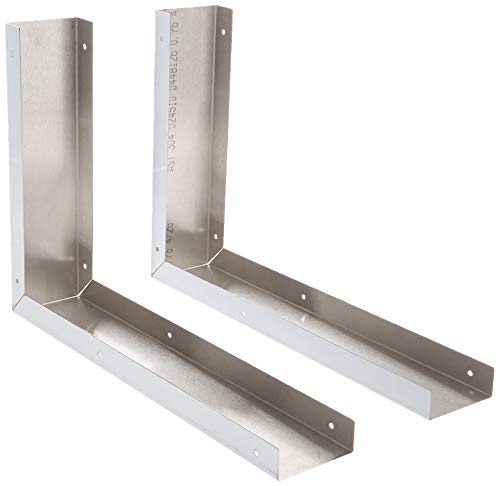 Whirlpool 8171339 Universal Microwave Hood Filler Kit, Stainless ()