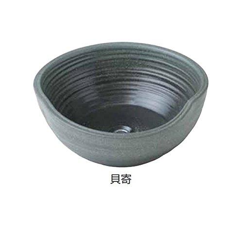 タカショー 陶器 ガーデンシンク 貝寄 『水栓柱立水栓 水受け(パン)』 貝寄 B00GQUNHQM 16286