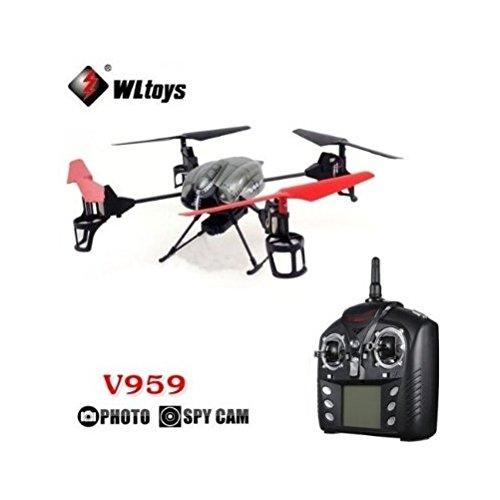 Cascacavelle V959 2.4G 4-Axis Gyro UFO 4CH IR RC Quadricottero Camera by