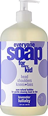 Everyone 3-in-1 Soap for Every Kid for Safe, Gentle and Natural Shampoo, Body Wash, or Bubble Bath