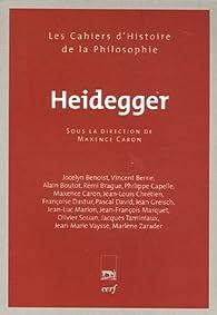 Heidegger par Maxence Caron