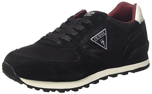 Guess Men's Active Man, Low Trainers Black (Nero)