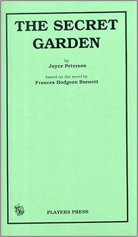 The Secret Garden: A Musical Drama for Children: Frances Hodgson ...